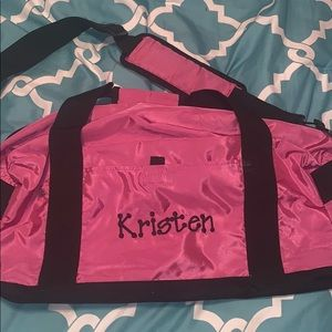 Other - Pink sleepover bag for name Kristen